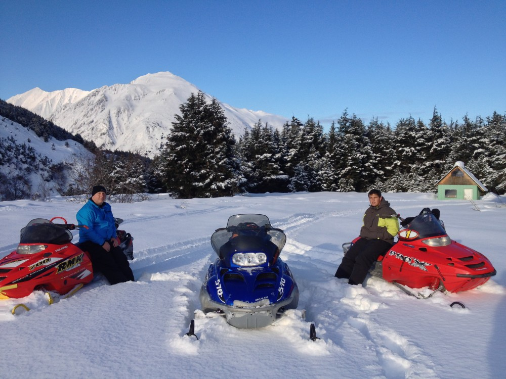 Turnagain Pass Snowmobiling Alaska Backcountry Access